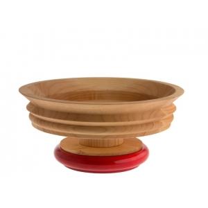 Frutero/centro de mesa de  madera. - REF. ES14