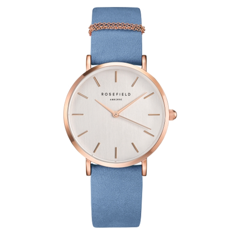 Reloj Rosefield West Village Rosado/gris ártico - REF. WAGR-W76 - Movil