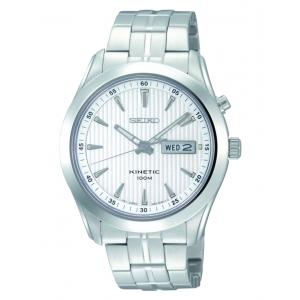 Reloj Seiko Kinetic Silver Dial - REF. SMY101P1