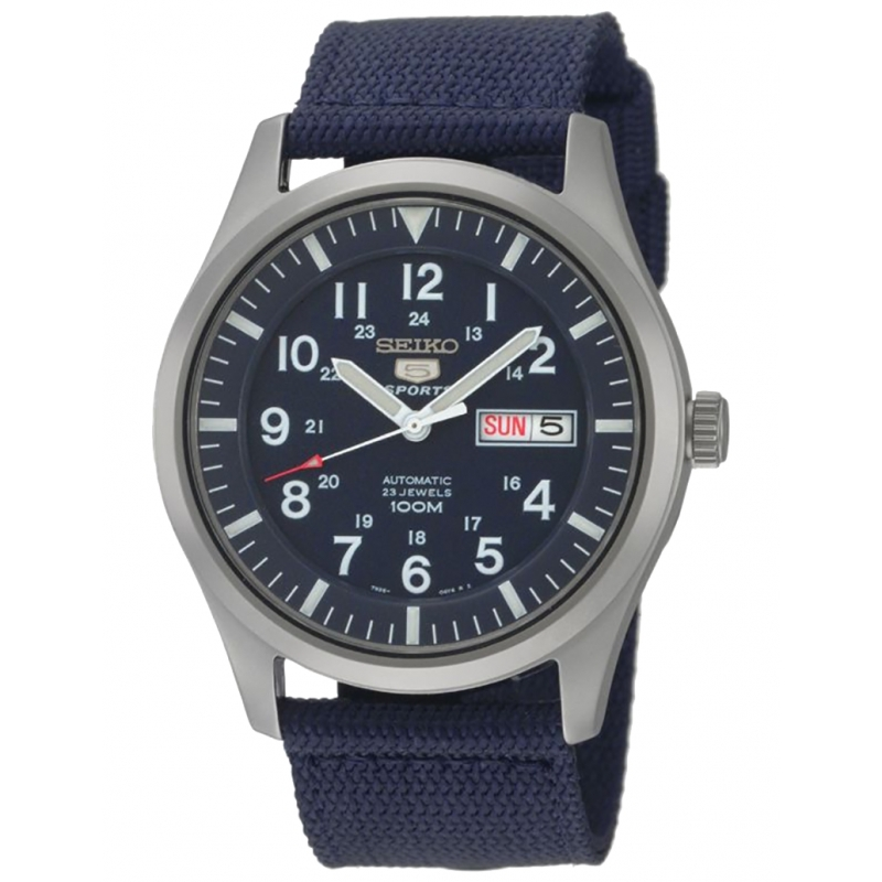 Reloj Seiko Neo Sports (Militar/Azul) - REF. SNZG11K1 - Movil