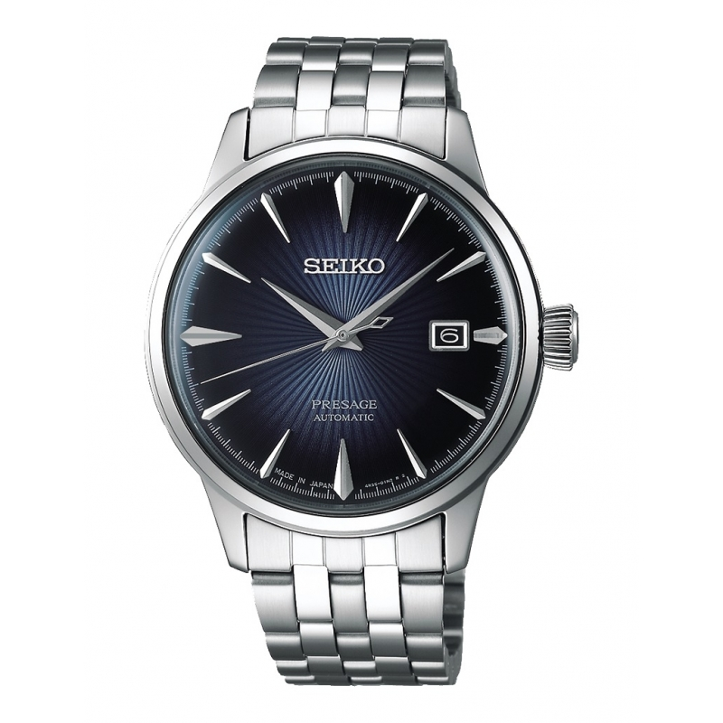 Reloj Seiko Presage Cocktail Bluemoon - REF. SRPB41J1 - Movil