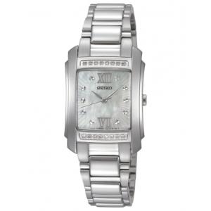 Reloj Seiko Neo Classic con  16 Diamantes - REF. SRZ365P1