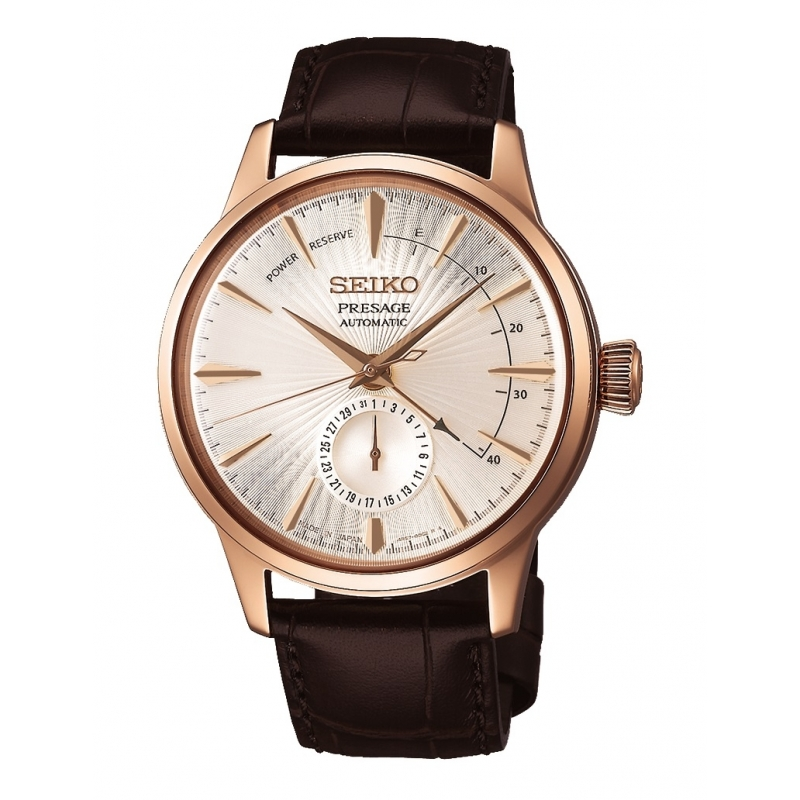 Reloj Seiko Presage Cocktail  Sidecar - REF. SSA346J1EST - Movil