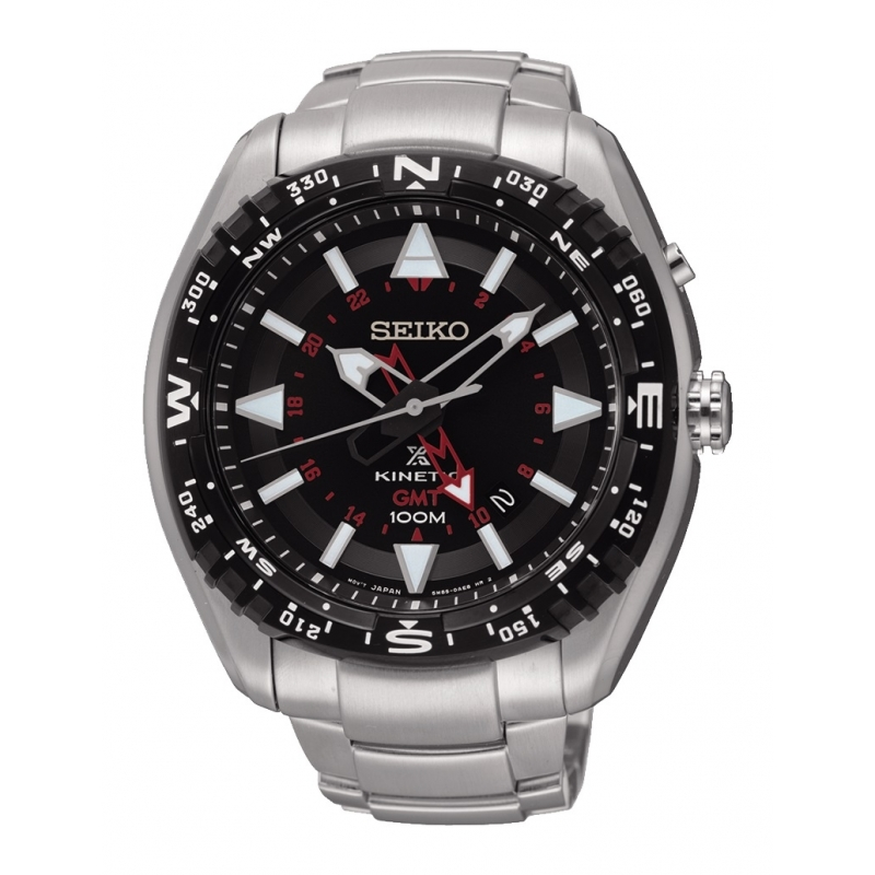 Reloj Seiko Prospex Tierra Kinetic - REF. SUN049P1 - Movil