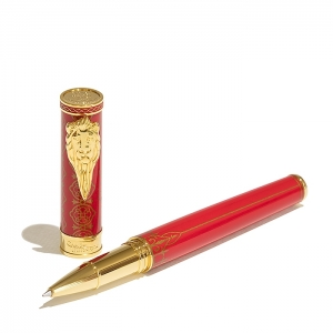 Roller rojo Game of Thrones de Montegrappa. - REF. ISGOTRLN 1