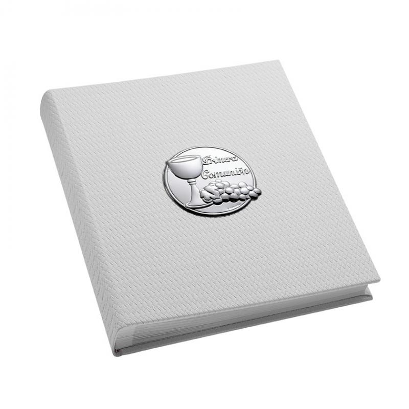 Album Primera Comunión en plata bilaminada. - REF. 02304646 - Movil