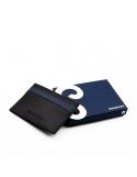 Producto siguiente Cartera piel hombre Geo azul. - REF. CPS00509