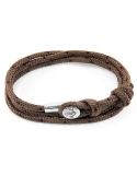 Producto siguiente Pulsera Anchor & Crew plata y cuerda negra. - REF. AC.SI.AD15