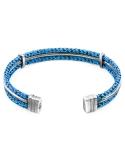 Producto anterior Pulsera rígida Anchor & Crew plata y cuerda azul/negra. - REF. AC.NA.AI11