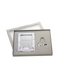 Producto anterior Set Querubín en rosa de plata bilaminada. - REF. 07500427