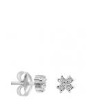 Producto anterior Pendientes flor mini oro 1ª ley y diamantes. - REF. N-5248/1P