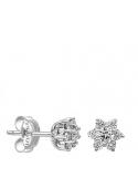 Producto anterior Pendientes orla flor oro 1ª ley y diamantes. - REF. N-2201/3P