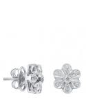 Producto anterior Pendientes flor grande oro 1ª ley y diamantes. - REF. N-5216/5P