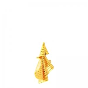 Par pendientes Coolook alga plata dorada. - REF. ND148AC 1