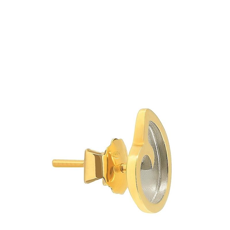 Pendientes caracolas medianos oro 1ª ley. - REF. N-7086/2ABP - Movil