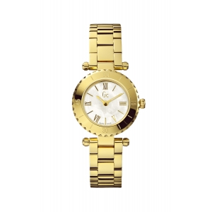Reloj Guess Collection Mini Chic Dorado. - REF. X70008L1S