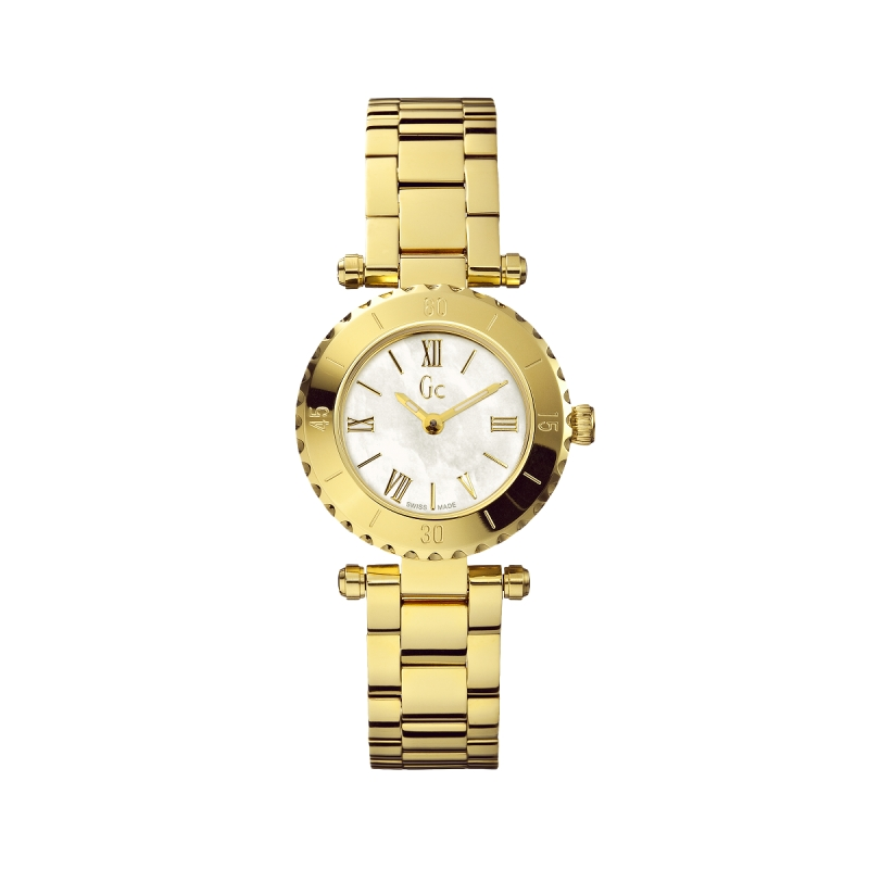 Reloj Guess Collection Mini Chic Dorado. - REF. X70008L1S - Movil