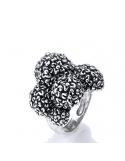 Producto siguiente Anillo/sello Chevalier simple de plata. - REF. 09297/16