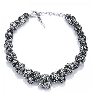 Collar Fiore d´Alba de plata. - REF. 9770