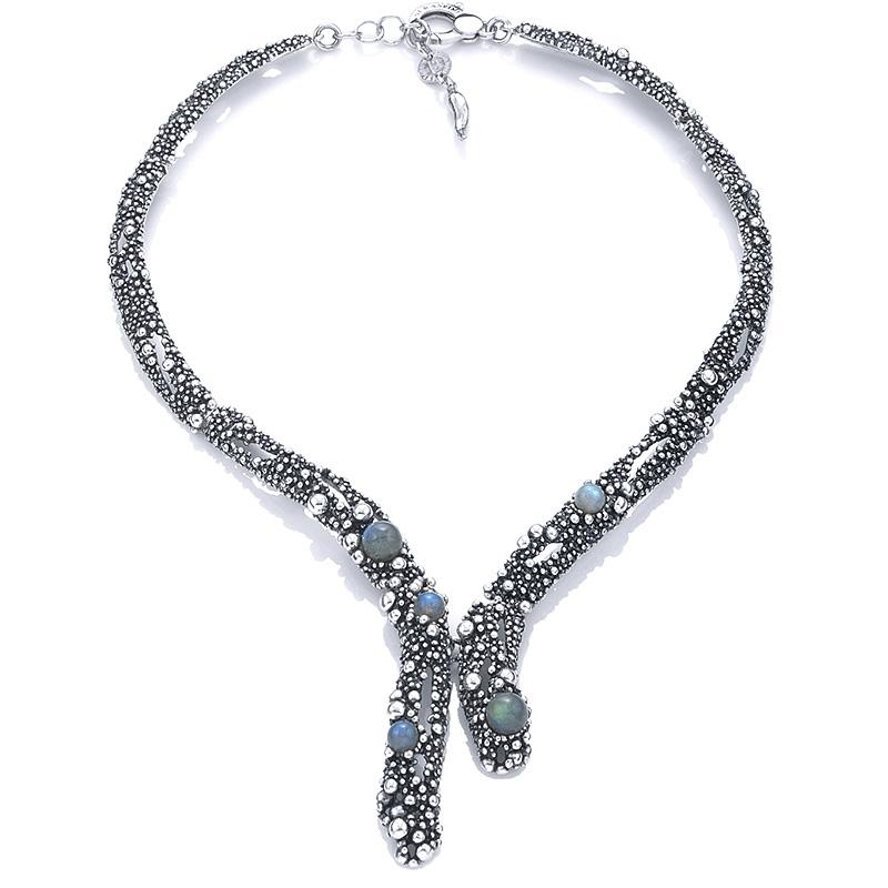 Collar Milky Way de plata. - REF. 9957 - Movil