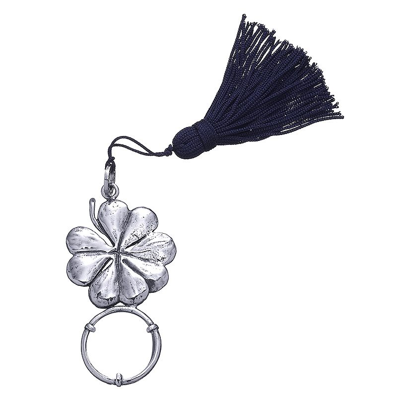 Lupa Lucky Clover de bronce blanco. - REF. B0127 - Movil