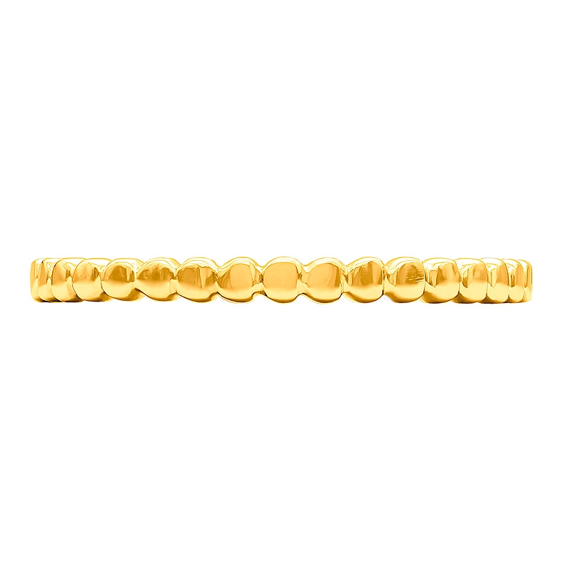 Anillo oro amarillo 1ª ley bolitas. - REF. N-7338AS - Movil