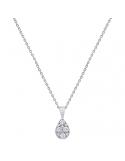 Producto anterior Colgante lágrima con cadena oro blanco 1ª ley y diamantes. - REF. 4874C/001