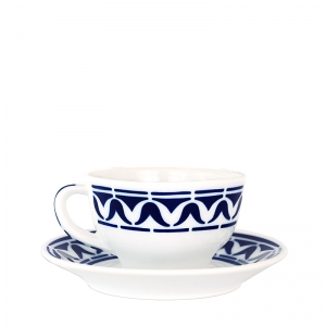Taza té con plato Armañá 3 de Sargadelos. - REF. 02842293