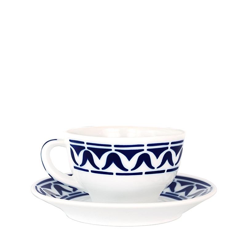 Taza té con plato Armañá 3 de Sargadelos. - REF. 02842293 - Movil