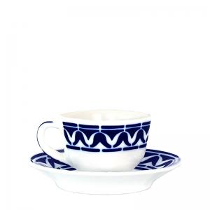 Taza café con plato Armañá 3 de Sargadelos. - REF. 02842193