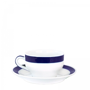 Taza café con plato V 1 de Sargadelos. - REF. 02104193