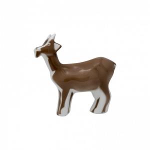 Figura Cabra marrón de Sargadelos. - REF. 33200014