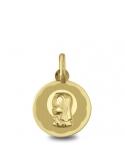 Producto siguiente Pendientes aros oro 1ª ley y diamantes. - REF. N-3242/4P