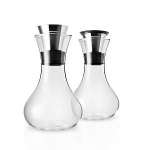 Set jarras leche/azucar de cristal. - REF. E567545