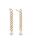 Producto anterior Pendientes Meraki de plata chapada en oro con perlas. - REF. 00508953