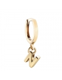 Producto siguiente Pendiente Alphabet Only One C de plata dorada. - REF. 00508892