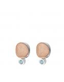 Producto siguiente Pendientes Sparkles de plata rodiada y topacios. - REF. PE-129-3055BT