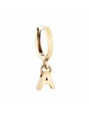 Producto anterior Pendiente Alphabet Only One A de plata dorada. - REF. 00508890