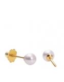 Producto siguiente Pendientes de oro 1ª ley y perla cultivada. - REF. 26310