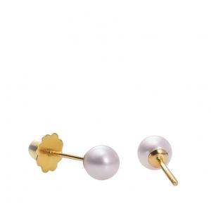 Pendientes de oro 1ª ley y perla cultivada. - REF. 26310