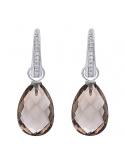 Producto siguiente Anillo oro blanco 1ª ley, esmeraldas y diamantes. - REF. N-7341BS