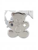 Producto siguiente Portachupete ovalo perlas de plata, - REF. 900119