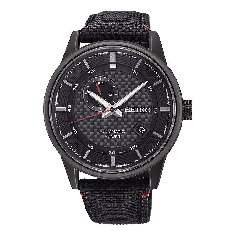 Reloj Seiko Neo Sports automático negro. - REF. SSA383K1 - Movil