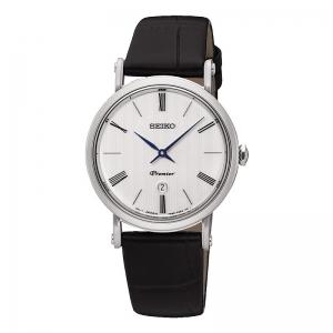 Reloj Seiko Premier extraplano. - REF. SXB431P1