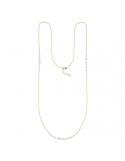 Producto anterior Collar largo Pearl de plata 1ª ley dorada. - REF. 00510056