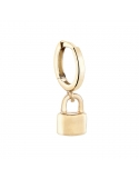 Producto anterior Pendiente aro Only One candado plata 1ª ley dorada. - REF. 00510014
