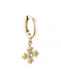 Producto siguiente Anillo Arco plata 925 chapada en oro amarillo. - REF. 00510095