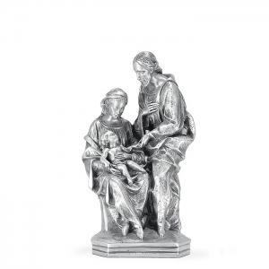 Figura Nacimiento pequeño bañada en plata. - REF. 1035P
