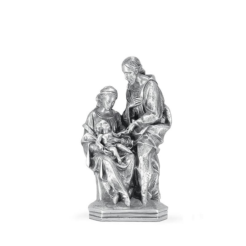 Figura Nacimiento pequeño bañada en plata. - REF. 1035P - Movil