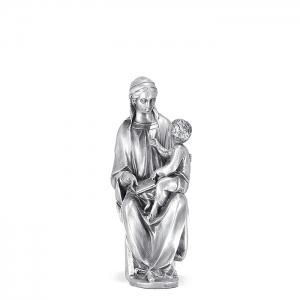 Figura Virgen Cánigo pequeña bañada en plata. - REF. 1031P
